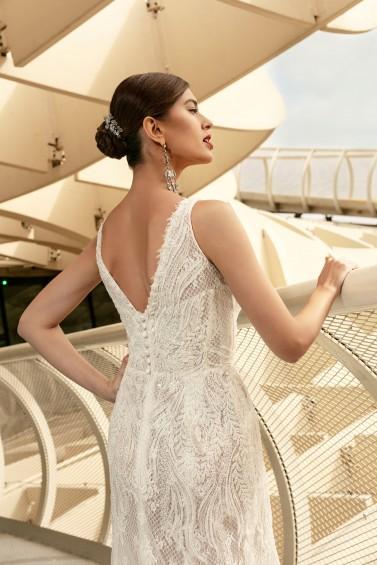 suknia ślubna TO-1095T zbliżenie
