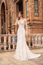 suknia ślubna TO-1096T przód