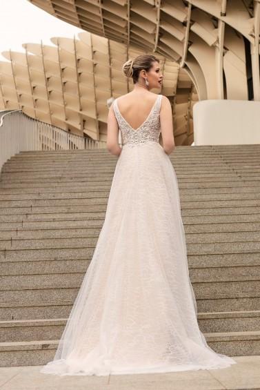 suknia ślubna TO-1116T tył
