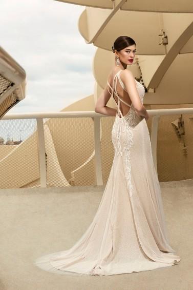 suknia ślubna TO-1124T tył