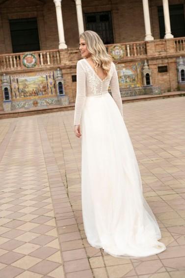 suknia ślubna TO-1126T tył