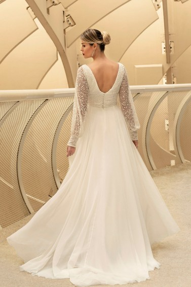 suknia ślubna TO-1130T tył