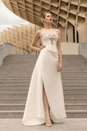 suknia ślubna TO-1142T przód