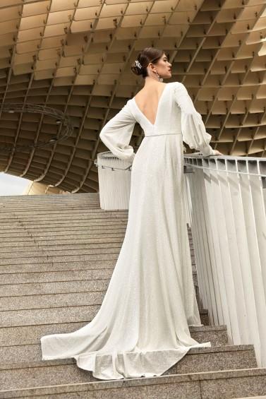 suknia ślubna TO-1144T tył