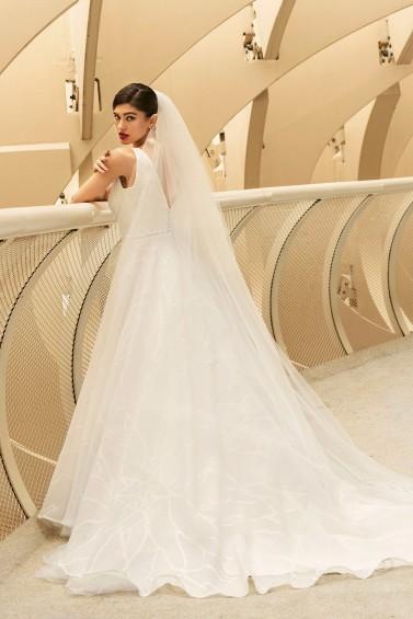 suknia ślubna TO-1164TR tył