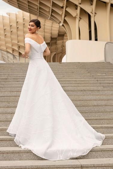 suknia ślubna TO-1171T tył
