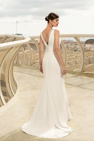 suknia ślubna TO-1180T tył
