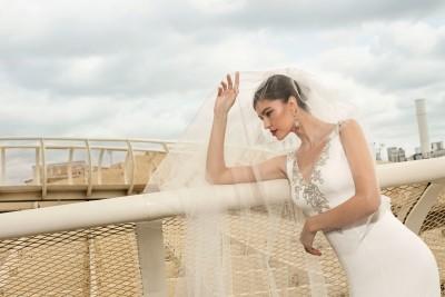 suknia ślubna TO-1180T zbliżenie