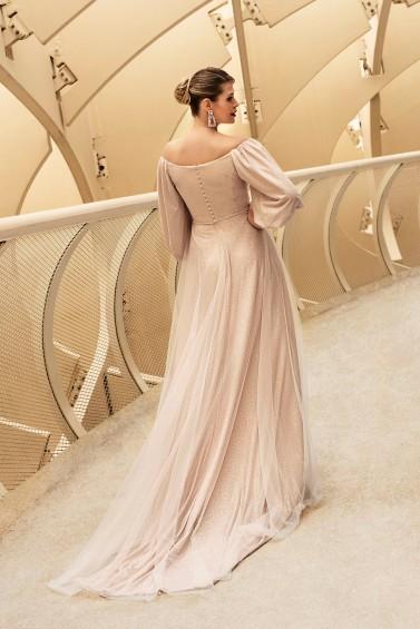 suknia ślubna TO-1181T tył