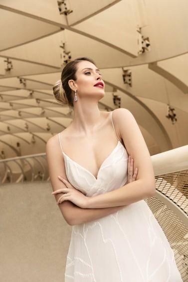 suknia ślubna TO-1188T zbliżenie