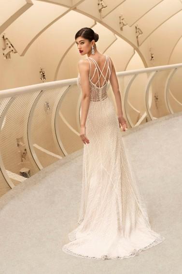 suknia ślubna TO-1191T tył