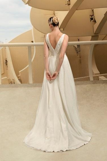 suknia ślubna TO-1195T tył