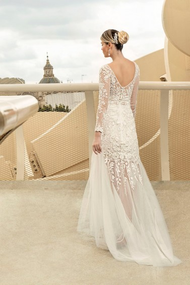 suknia ślubna TO-1202T tył