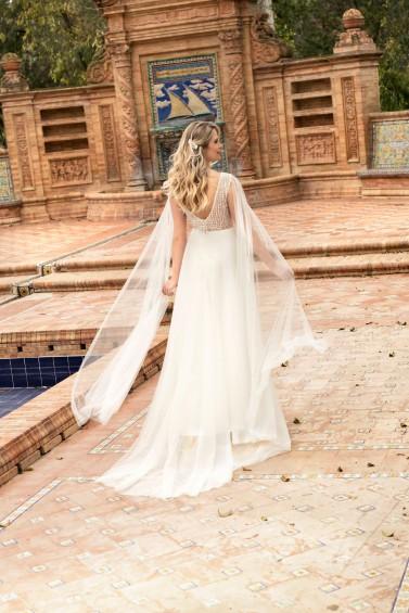 suknia ślubna TO-1205T tył