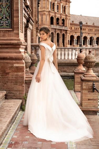 suknia ślubna TO-1210T tył