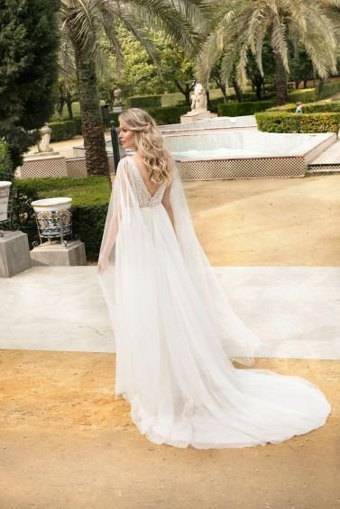 suknia ślubna TO-1211T tył