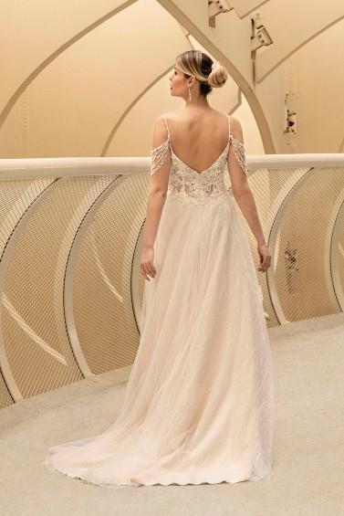 suknia ślubna TO-1220T tył