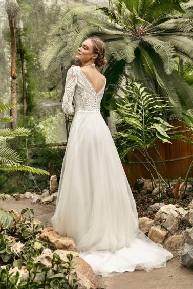 suknia ślubna TO-1241T tył