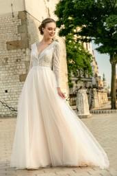 suknia ślubna TO-1243T przód