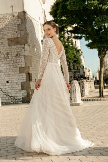 suknia ślubna TO-1243T tył