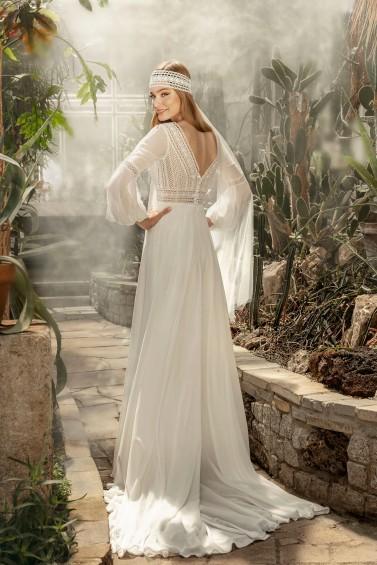 suknia ślubna TO-1248T tył