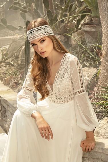 suknia ślubna TO-1248T zbliżenie