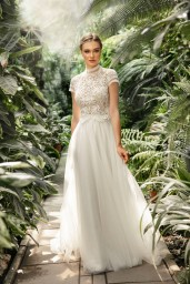 suknia ślubna TO-1249T przód