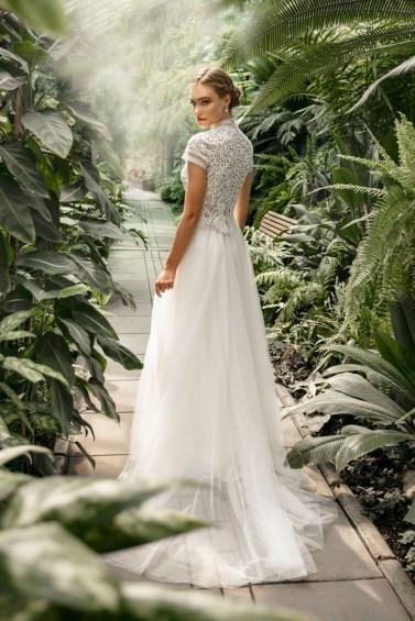 suknia ślubna TO-1249T tył