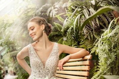 suknia ślubna TO-1251T zbliżenie