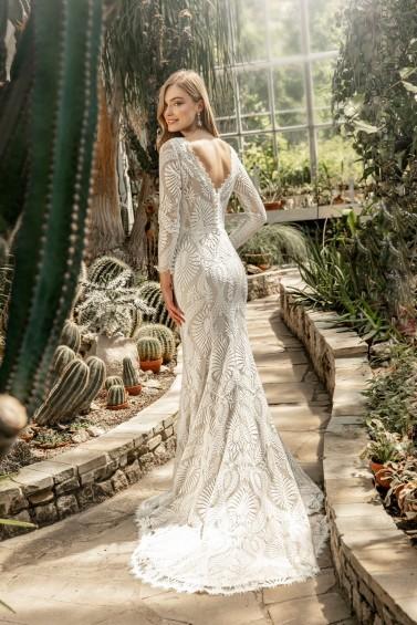 suknia ślubna TO-1252T tył