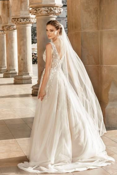 suknia ślubna TO-1253T tył