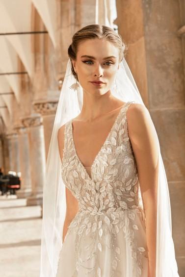 suknia ślubna TO-1253T zbliżenie
