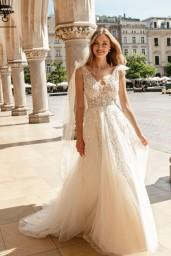 suknia ślubna TO-1254T przód