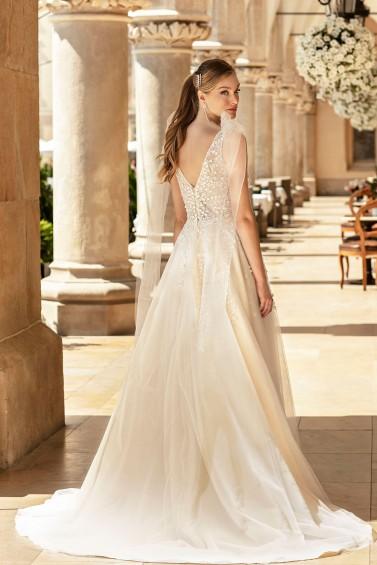suknia ślubna TO-1254T tył