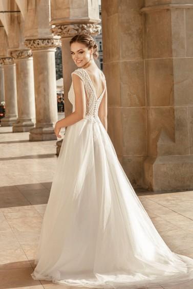 suknia ślubna TO-1255T tył