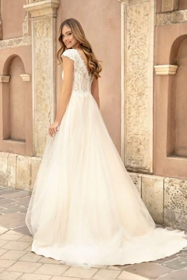 suknia ślubna TO-1257T tył