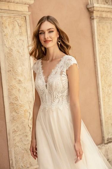 suknia ślubna TO-1257T zbliżenie