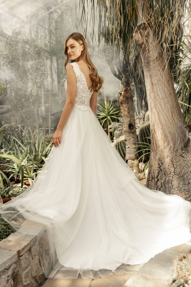 suknia ślubna TO-1258T tył