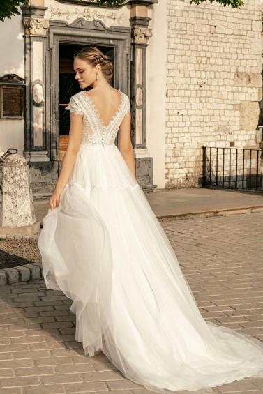suknia ślubna TO-1259T tył