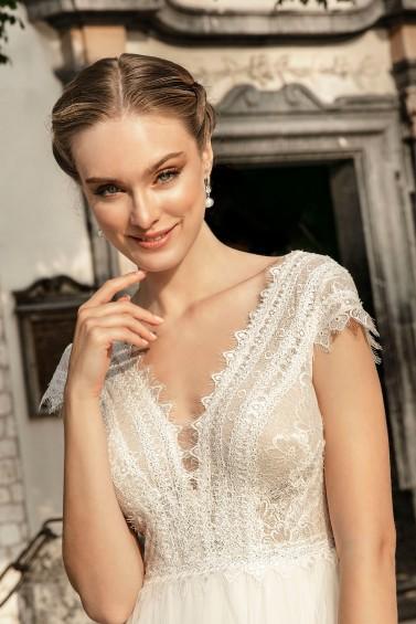 suknia ślubna TO-1259T zbliżenie