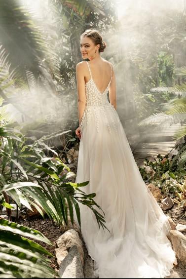 suknia ślubna TO-1260T tył