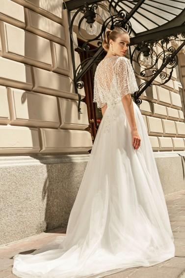 suknia ślubna TO-1261T AB-920 tył