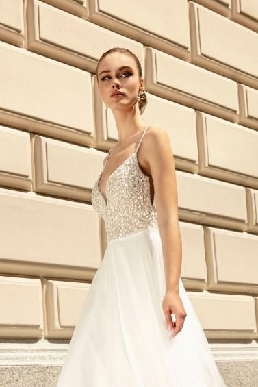 suknia ślubna TO-1261T zbliżenie