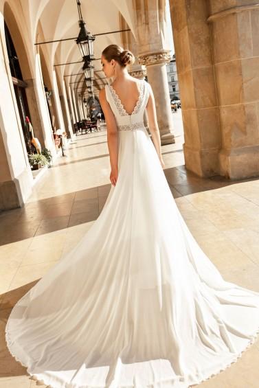 suknia ślubna TO-1262T tył