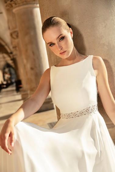 suknia ślubna TO-1262T zbliżenie