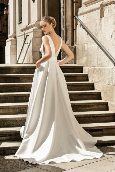 suknia ślubna TO-1264T tył