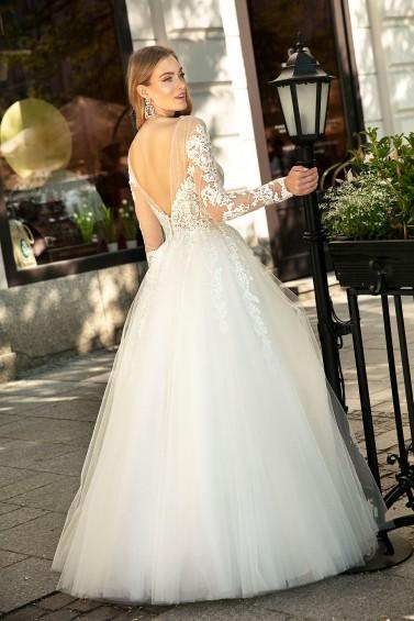 suknia ślubna TO-1265 tył