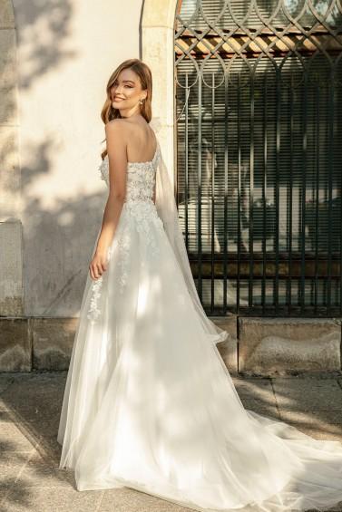 suknia ślubna TO-1266T tył