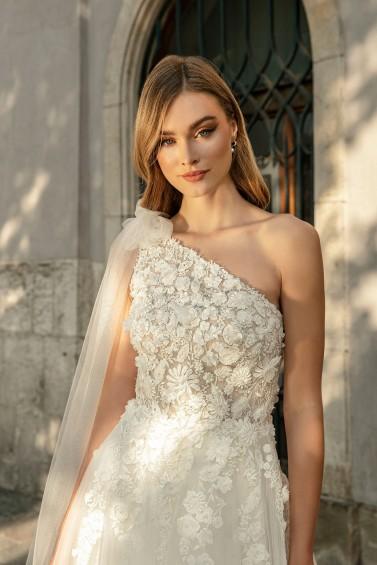 suknia ślubna TO-1266T zbliżenie