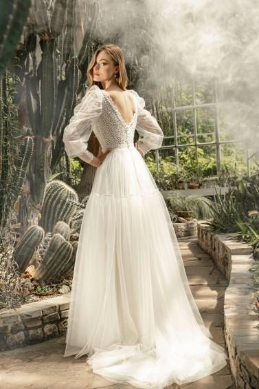 suknia ślubna TO-1267T tył